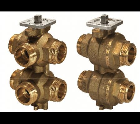 vwg41.20-0.25-0.65 6-ходовой регулирующий шаровой клапан siemens BPZ:S55230-V143