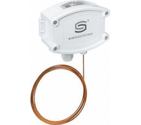 Термостат защиты от замерзания с релейным выходом FST-xD S+S Regeltechnik