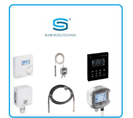 Хомут для накладных датчиков температуры SPB1 от S+S Regeltechnik